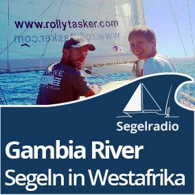 Gambia River - Segeln in Westafrika